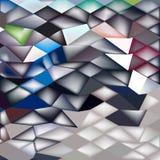 Fond de polygone de Horse Racing Abstract de jockey bas Photos stock
