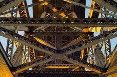 Fond de pont en métal Photo libre de droits