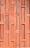 Fond de porte en bois Photos libres de droits