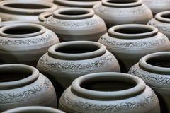 Fond de poterie Photographie stock