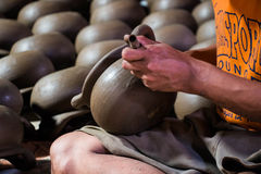 Fond de poterie Photographie stock libre de droits