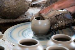 Fond de poterie Image stock