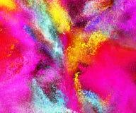 Fond de poudre coloré par résumé illustration stock