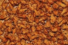 Fond de poulet frit Images stock