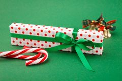 Fond de préparation de Noël Images libres de droits