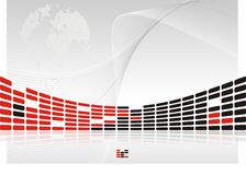 Fond de présentation Photographie stock libre de droits