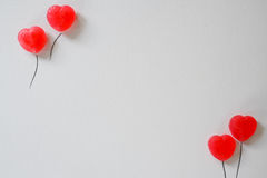 Fond de présentation de ballon d'amoureux, Valentine, épousant Images stock