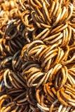 Fond de pretzels images libres de droits