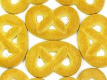 Fond de pretzels Photographie stock libre de droits