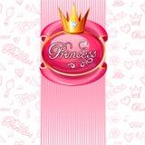 Fond de princesse de filles Photo stock