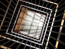 Fond de prison photographie stock libre de droits