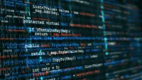 Fond de programmation de code