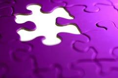 Fond de puzzle Photographie stock libre de droits