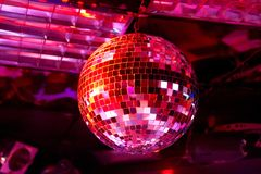 Boule de disco Photos stock