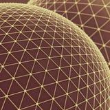 Fond de réseaux globaux illustration stock