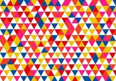 Fond de rétros triangles illustration stock