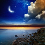 Fond de Ramadan Photo libre de droits