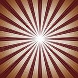 Fond de rayon de Brown Image libre de droits