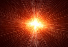 Fond de rayon de soleil Image libre de droits