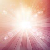 Fond de rayon de soleil illustration stock