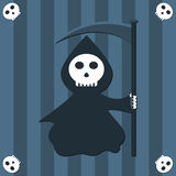 Fond de Reaper Photographie stock
