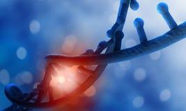 Fond de recherches d'ADN illustration stock