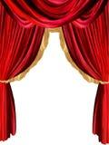 Fond de rideau Image stock
