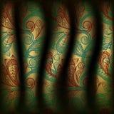 fond de rideau de Paisley Photo libre de droits