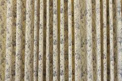 Fond de rideau ou de draperie en Ventage Images libres de droits