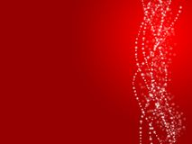 Fond de rouge d'ampoule illustration de vecteur