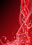 Fond de rouge de Noël illustration libre de droits