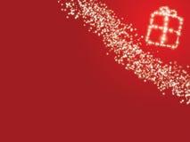 Fond de rouge de Noël illustration stock