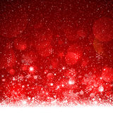 Fond de rouge de Noël Photos libres de droits