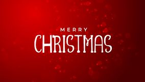 Fond de rouge de Joyeux Noël et de bonne année illustration libre de droits