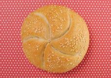 Fond de roulis de pain (regard de cru) Images stock