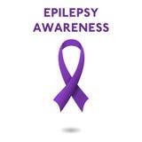 Fond de ruban d'épilepsie illustration libre de droits