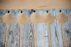 Fond de sable Images libres de droits