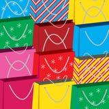 Fond de sacs à provisions Images libres de droits