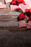 Fond de Saint Valentin Photos stock
