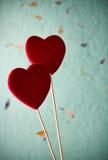Fond de Saint-Valentin. Images libres de droits