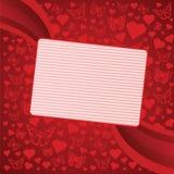 Fond de Saint-Valentin Image libre de droits