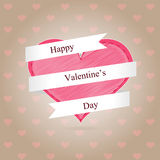 Fond de Saint Valentin Photo stock