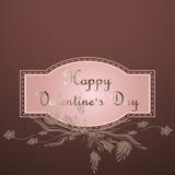 Fond de Saint-Valentin Photo libre de droits