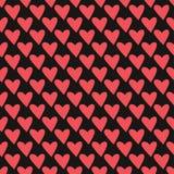 Fond de Saint Valentin avec le coeur de texture pour la bannière de Web, papier de pacage, carte de voeux Modèle géométrique de v Photos stock