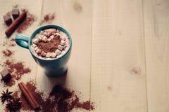 Fond de Saint-Valentin, l'espace de copie, art de Latte Photos stock
