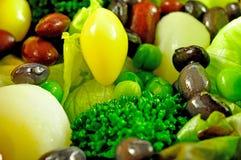 Fond de salade Photos libres de droits