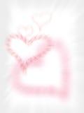 Fond de salutation d'amour Photo stock