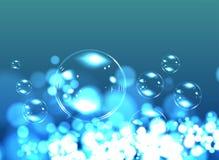 Fond de savon de bulle Photos libres de droits