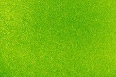 Fond de scintillement de vert de chaux Photographie stock