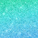 Fond de scintillement de vert bleu avec l'effet de couleur Vecteur illustration libre de droits